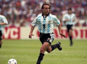 Le célèbre joueur argentin Gabriel Batistuta voulait être amputé des deux jambes