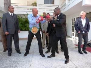 Haiti: Le combat de Adonis Stevenson en Haiti n'est pas encore chose faite