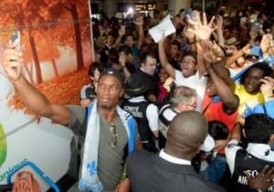 Didier Drogba est accueilli en roi à Montréal