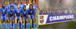 Haiti: Football féminin U-20, Haiti gagne la Coupe Caraibéenne des Nations