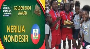 Mondial U-17 Jordanie 2016: Haiti éliminée, Nérilia Mondésir, buteuse de la Concacaf