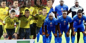 Monde: Haïti s'incline en match amical face à la Colombie