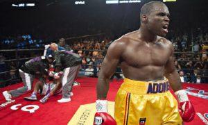 Monde: Adonis Stevenson l'emporte par K.-O et conserve sa ceinture de champion du monde