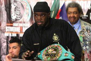 Haiti: L'ex-champion du monde des poids lourds WBC Bermane Stiverne de passage en Haïti
