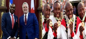 Monde: Le sprinter canadien d'origine capoise Bruny Surin honoré de l'Ordre national du Québec