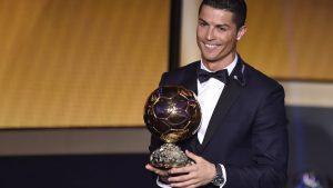 Cristiano Ronaldo remporte son 4ème Ballon d'Or !