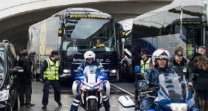 Ligue des Champions: Explosions près du bus du Borussia Dortmund, match renvoyé