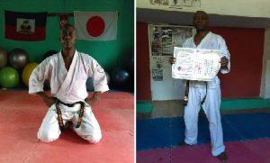 Haiti: Hérold G Calixte Représentant en Chef de Kiodokyokushin pour Haiti