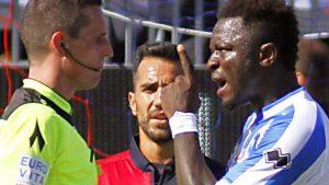 Monde: Le milieu de terrain ghanéen de Pescara, Sulley Muntari, victime d'insultes racistes