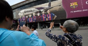 Monde: L'Arabie Saoudite interdit le port du maillot du Fc Barcelone
