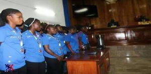 Haiti: Le Sénat  accueille les championnes U17 féminins de la USA Cup