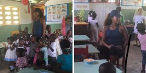 Haiti: La jeune superstar du tennis féminin Naomi Osaka visite Haiti