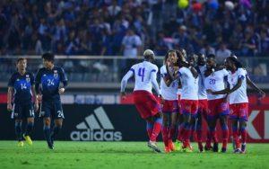Les Grenadiers accrochent le Japon en match amical