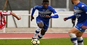 Ligue 2: Leverton Pierre fait ses premiers pas avec l'équipe première d'Ajaccio