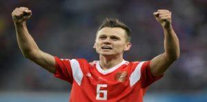 Mondial Russie 2018: Cheryshev rejoint Ronaldo en tête du classement des buteurs de la Coupe du Monde