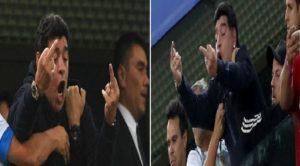 Mondial Russie 2018: Maradona perd le contrôle et finit la soirée exténuée après un léger malaise