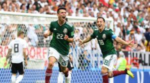 Mondial Russie 2018: Le Mexique crée la sensation et surprend l'Allemagne