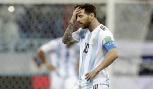 Mondial Russie 2018: L'Argentine et Messi au bord du gouffre