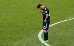 Mondial Russie 2018: Messi et l'Argentine accrochés par l'Islande