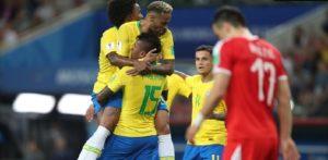 Mondial Russie 2018: Le Brésil domine la Serbie et file en 8e sans trembler