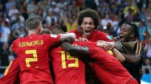 Mondial Russie 2018: La Belgique affrontera le Brésil en quarts de finale