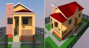 Haiti: La maison modèle que l'Etat haitien offrira aux jeunes grenadières pour leur qualification