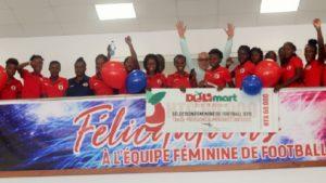Haiti: Délimart récompense la performance des jeunes grenadières des moins de 20 ans