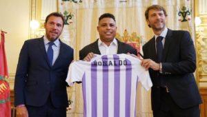 Monde: Le Brésilien Ronaldo devient le nouvel actionnaire majoritaire du Real Valladolid
