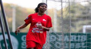 Monde: L'internationale haitienne Batcheba Louis marque un doublé assurant la victoire de son équipe