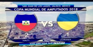 Mondial de Football des Amputés México 2018: 2e victoire pour les Grenadiers