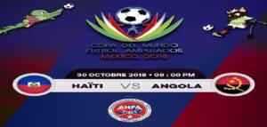 Mondial de Football des Amputés México 2018: 3ème victoire consécutive pour Haiti