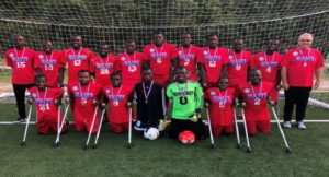 Mondial México 2018: Haïti participera à la Coupe du monde de football amputé
