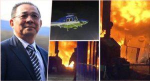 Monde: Le propriétaire du club Leicester, décédé dans l'accident d'hélicoptère sur le parking du stade après le match