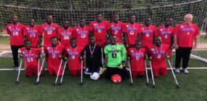 Mondial de Football des Amputés México 2018: Haïti éliminée en huitième de finale