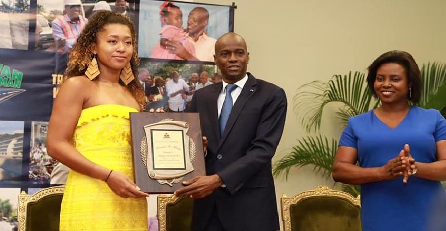Monde: Naomi Osaka compte créer une académie de tennis en Haïti