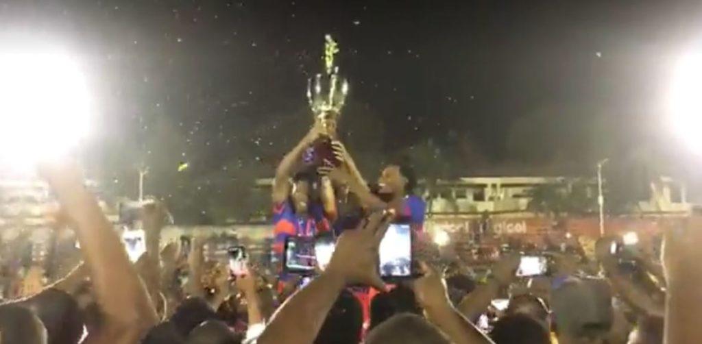 Haiti: Le vieux Coq Capois conserve la Coupe champion des champions