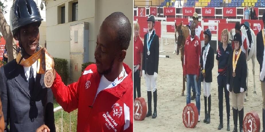 Haïti remporte sa première médaille d'or aux Jeux olympiques spéciaux d'Abu Dhabi