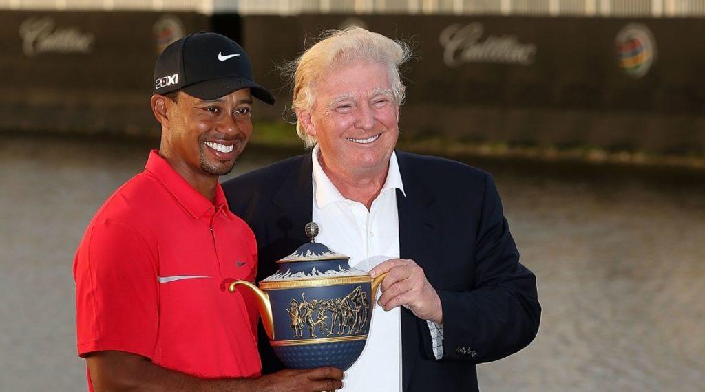 Monde: Donald Trump décorera Tiger Woods de la plus haute distinction américaine