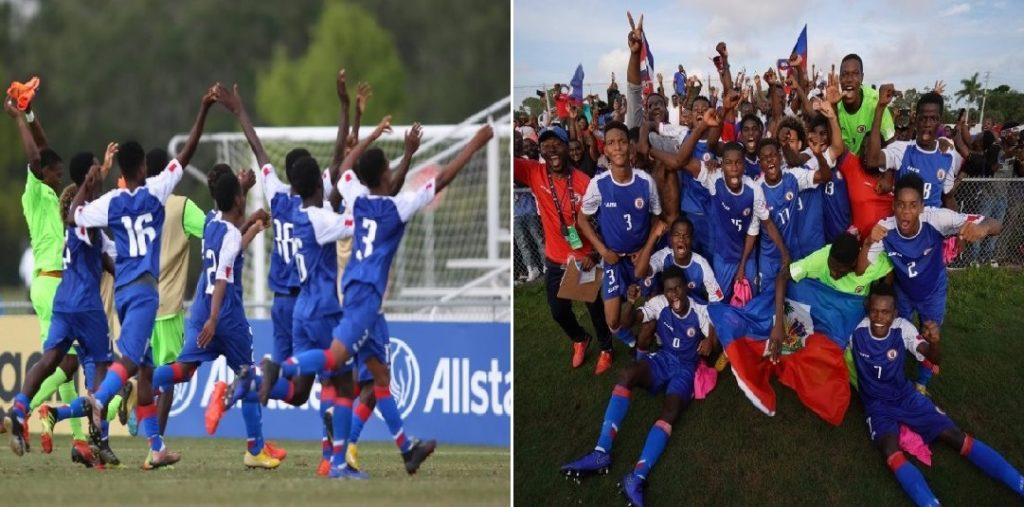 CONCACAF: Haïti qualifié pour la Coupe du Monde U-17 Brésil 2019