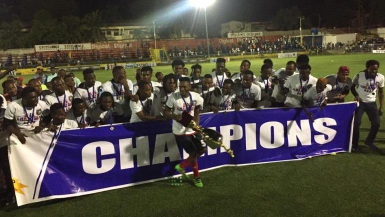 Haiti:  L'Arcahaie FC remporte la série d'ouverture du championnat national D1