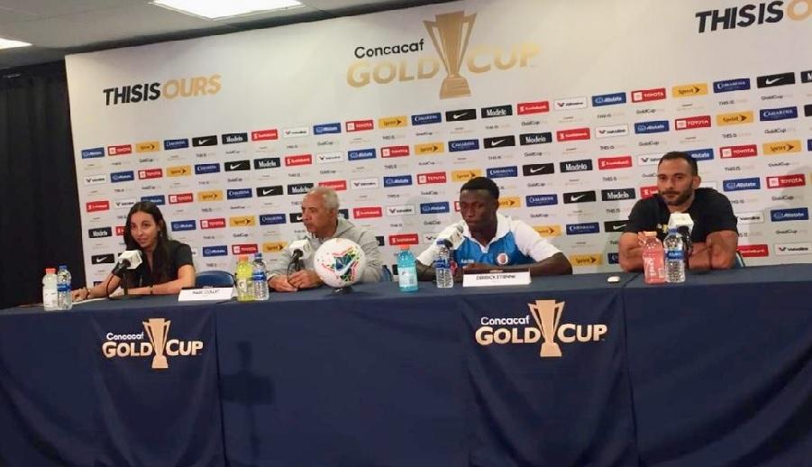Gold Cup 2019: Marc Collat «Quelque soit le résultat, nous serons prêts à affronter le Mexique»