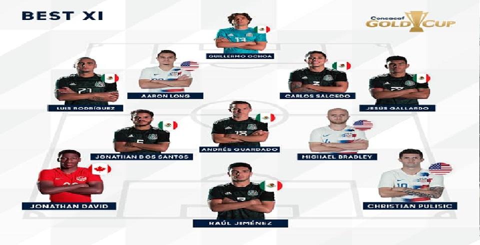 Gold Cup 2019: Aucun Grenadier dans l'équipe-type de la compétition !