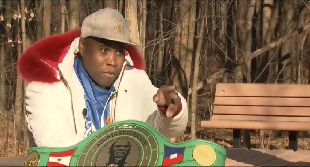 Monde: Adonis Stevenson, Champion de l'Espoir