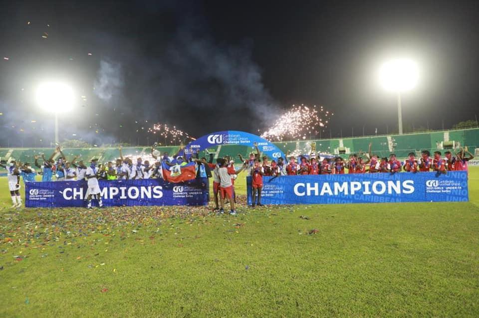CFU Challenge Series: Haïti championne dans les deux catégories, filles et garçons
