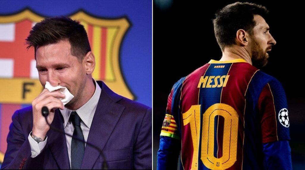 Monde: Lionel Messi fait ses adieux en larmes à Barcelone